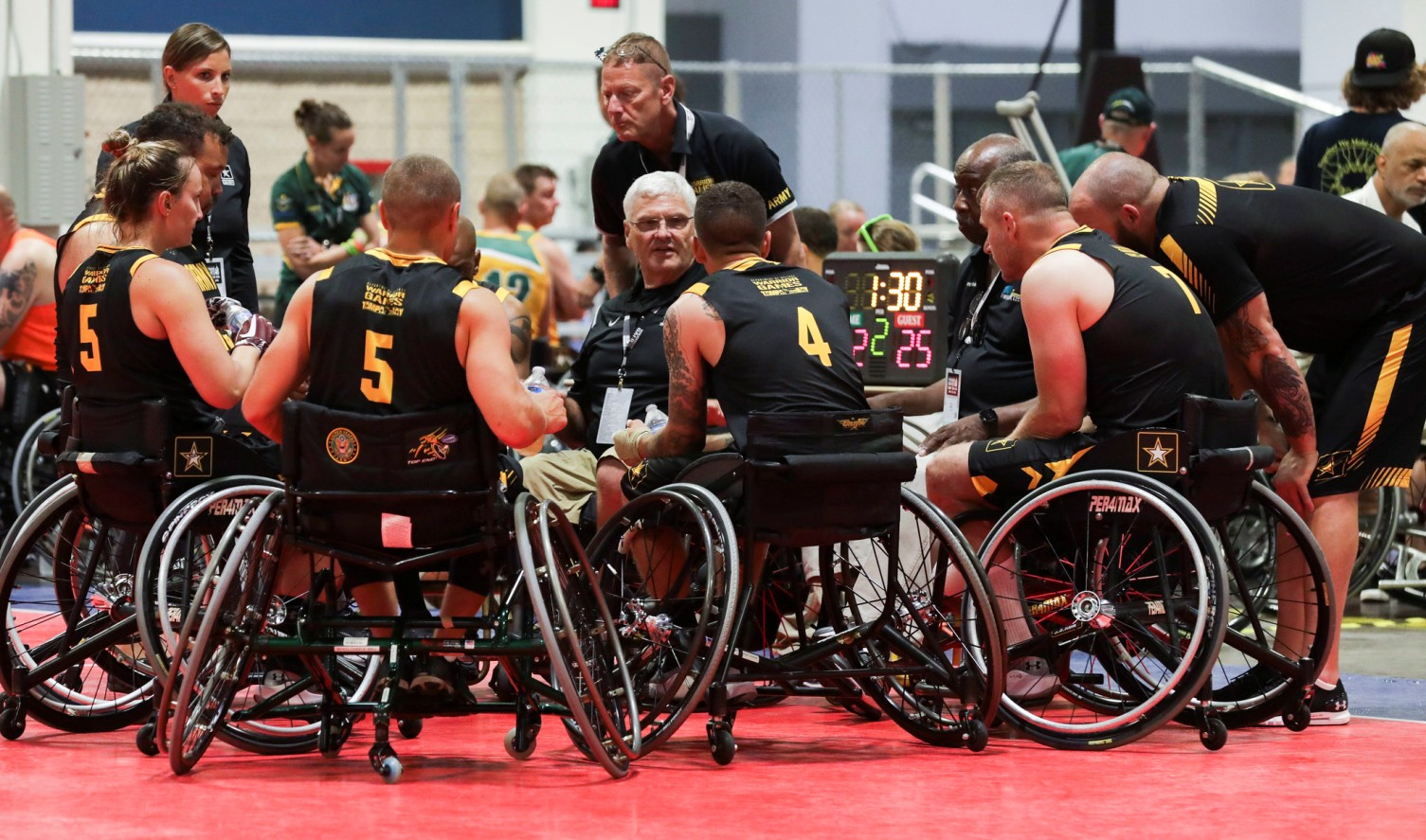 us army wheelchair basketball