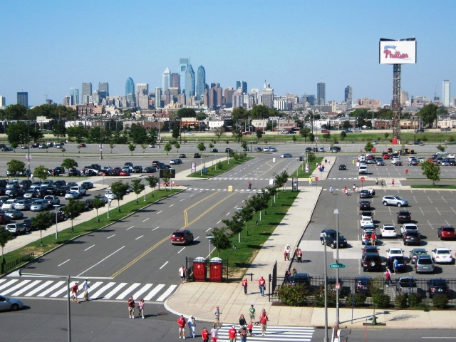 Phillies ballpark parking