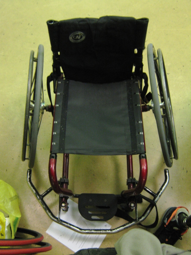 wheelchair basketball chair