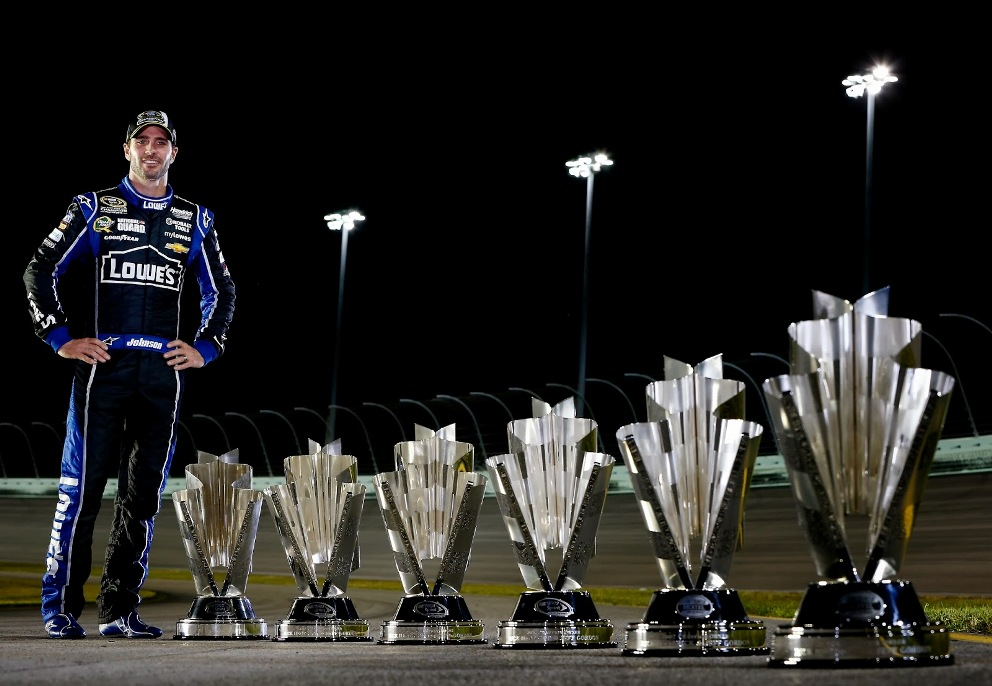 decline of nascar jimmie johnson