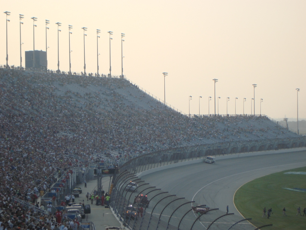 decline of nascar empty seats