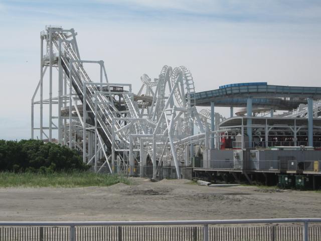 wildwood roller coasters great noreaster