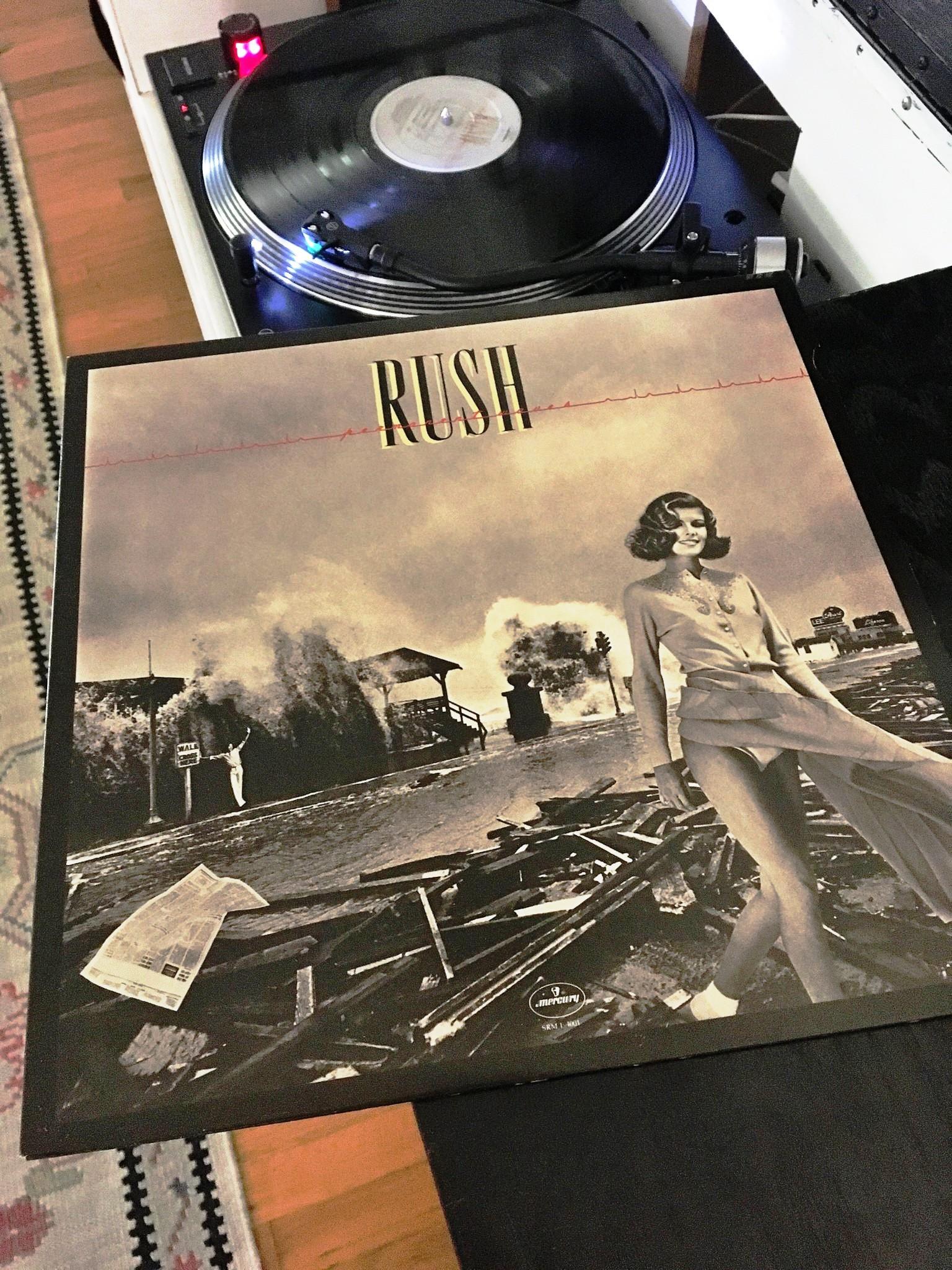 Rush Permanent Waves LP