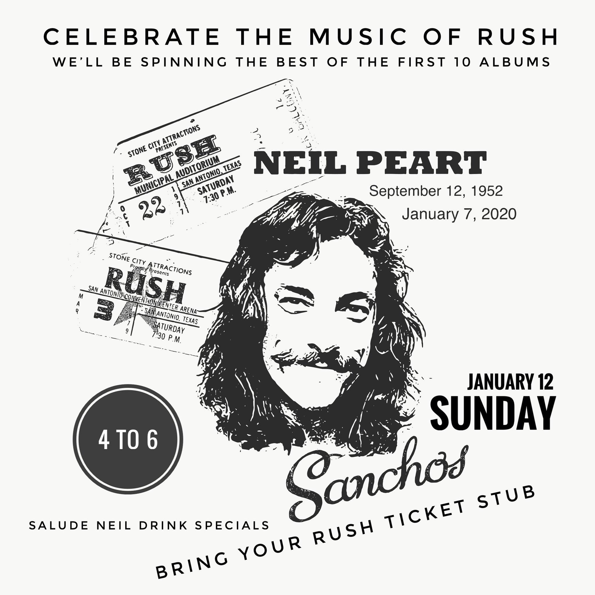 Neil Peart Tribute Celebration